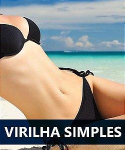 Depilação a laser Virilha simples feminino