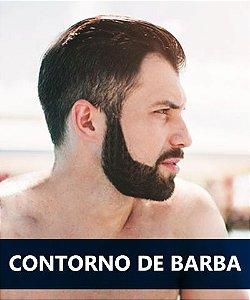 Depilação a laser Contorno de barba masculino
