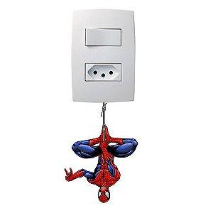 Adesivo Interruptor Homem Aranha
