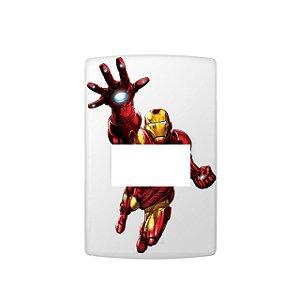 Adesivo Interruptor Homem Ferro