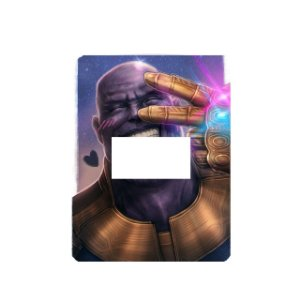 Adesivo Interrutor Thanos