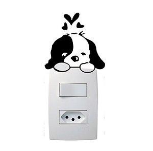 Adesivo Interruptor Cachorro