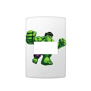 Adesivo Interrutptor Hulk