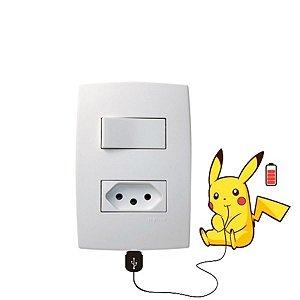 Adesivo Interruptor pikachu