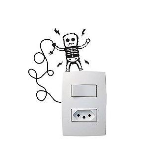 Adesivo Interruptor Choque Elétrico