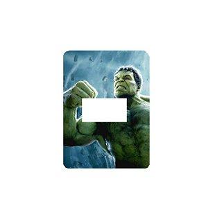 Adesivo Interruptor Hulk