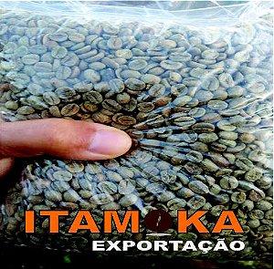 Café Grãos Cru 9kg Itamoka Para Torrar Tipo Exportação 100% Arábica Bica Corrida Bebida Dura