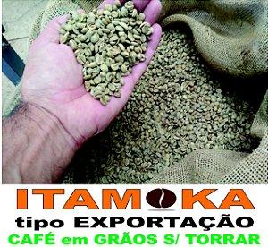 Café Grãos Verde 3kg In Natura 100% Arábica Produtor Sul Mg Bica Corrida Bebida Dura