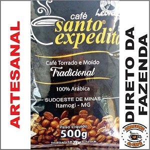 Café Torrado e Moído 20 Kg Da Roça Sudoeste de Minas Torra Média Arábica saboroso
