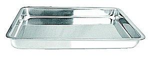Assadeira Retangular Baixa(42.0 x 30.8 x 4.3 cm) - Luz Nobre