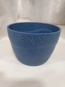 Vaso Cachepot 11x7.6 Azul - Evo