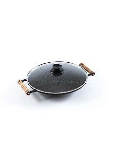 Tacho de Alumínio Marmorizado - Grill Oriental