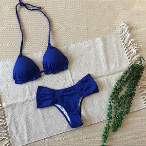 Conjunto Biquini Azul Royal 2121 e 1004A