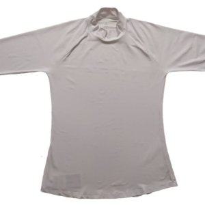 Camisa Proteção Solar Gola Alta Branco 6007A