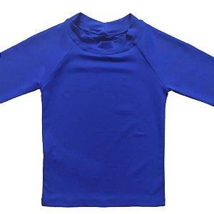 Camisa Com Proteção Solar Infantil Azul Royal 6010