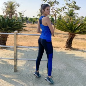 Regata Fit Azul Royal 14052