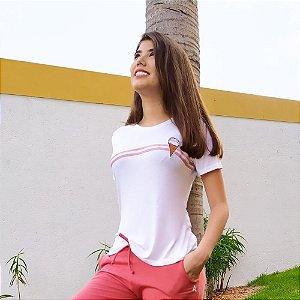 Tshirt Casual Branca 14064