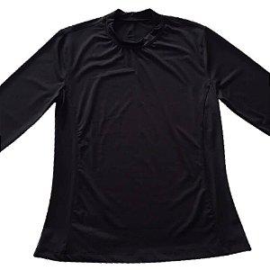 Blusa Proteção Solar Preto 6017