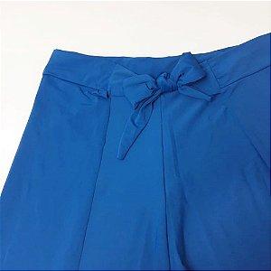 Saída de Praia Short Envelope Azul Royal 5059