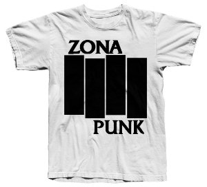 Camiseta Zona Punk Black Flag