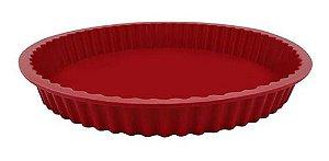 Yangzi Carol Fioretino Forma de Silicone Vermelha P/ Torta