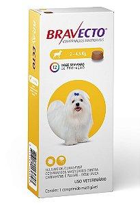 Bravecto 112mg  /  2 a 4,5Kg