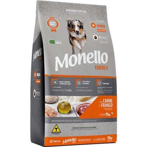 Monello Ração Dog Energy 15KG