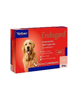 Virbac Endogard Vermífugo para Cães até 30KG C/ 2 Comprimidos