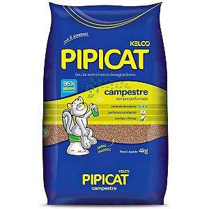 Pipicat Areia para Gatos Campestre 4KG