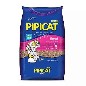 PIPICAT AREIA GATO PERF FLORAL 4KG R-2716/0518