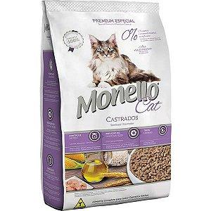 Monello Ração Cat Gatos Castrados 1KG