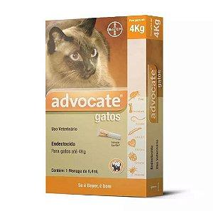 Advocate Gatos 0,04mL (Até 4Kg)