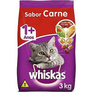 Whiskas Dry Adulto Carne 3KG