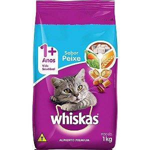 Whiskas Adulto Peixe 1KG
