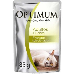Optimum Cat Sachê Adulto Frango 85G