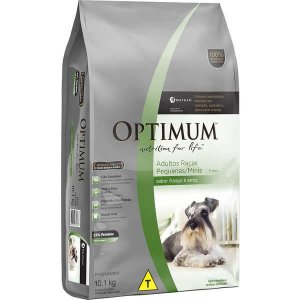 Optimum Dry Dog Adulto Raças Pequenas e Minis Frango/Arroz 10,1KG