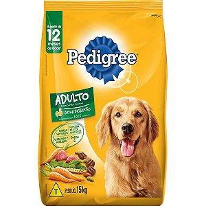Pedigree Cães Carne/Vegetais 15KG