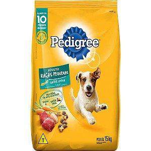 Pedigree Ração Adulto Cães Raças Pequenas 15KG