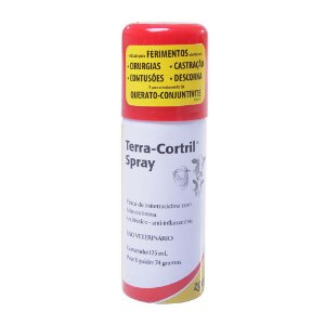 Terra-Cortril® Bovinos e Ovinos Spray 125mL