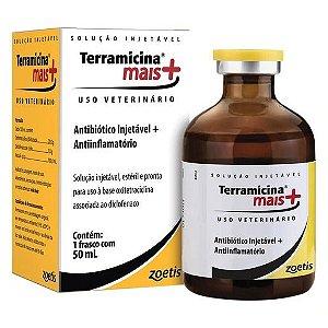 Terramicina® Mais Antibiótico + Anti-inflamatório 50mL
