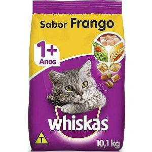 Whiskas Ração Dry Adulto Frango 10,1KG