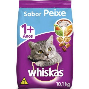 Whiskas Ração Dry Adulto Peixe 10,1KG