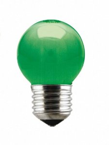 Taschibra Lâmpada Color Verde 15W