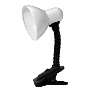 Taschibra Luminária de Mesa Garra TLM 05 Branco