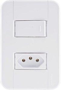 Tramontina Interruptor Simples C/ Tomada 10A