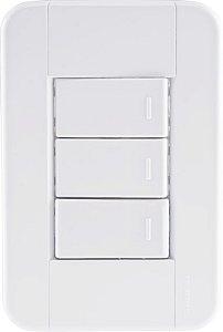 Tramontina 3 Interruptores Simples 10A