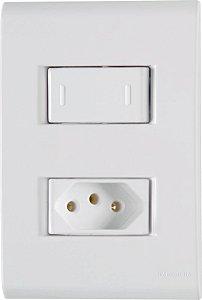 Tramontina Liz 1 Interruptor Paralelo 10A 1 Tomada 2P+T