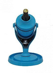 Cervegela Porta Garrafa Elite Azul