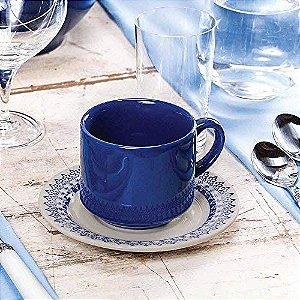 Oxford Xícara Chá C/ Prato Donna Grécia