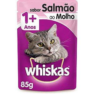 Whiskas Sachê Gato Adulto Salmão 85G